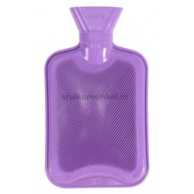 Vagabond Natuurrubber kruik 2 liter Dubbel geribd Lilac